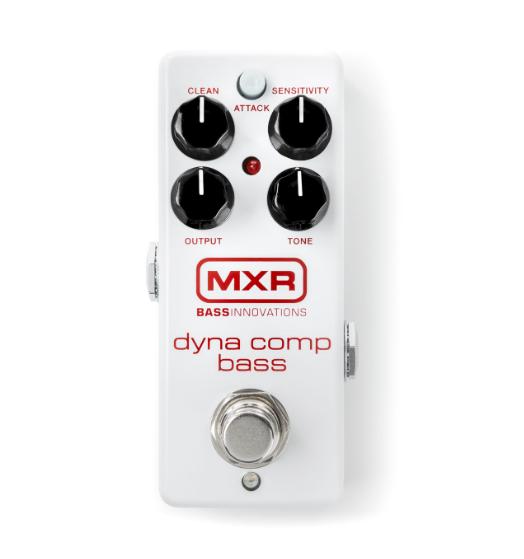 Напольный аналоговый педаль эффектов для бас-гитар DUNLOP M282 Bass Dyna Comp Compressor Mini