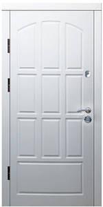 """Входные двери металлические, рис. """"Б"""" №9, Цвет ПВХ-05"""