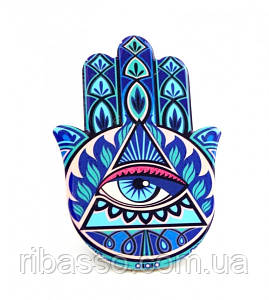 9320011 Хамса - рука Мириам керамическая настольная №13