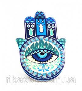 9320011 Хамса - рука Мириам керамическая настольная №12