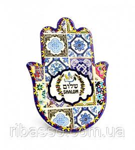 9320011 Хамса - рука Мириам керамическая настольная №11