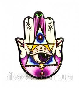 9320011 Хамса - рука Мириам керамическая настольная №10