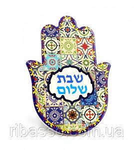 9320011 Хамса - рука Мириам керамическая настольная №8