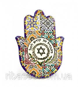 9320011 Хамса - рука Мириам керамическая настольная №7