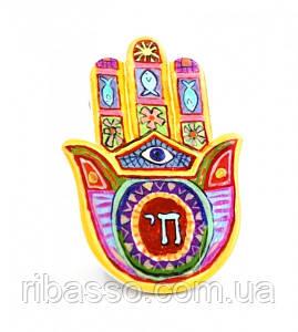 9320011 Хамса - рука Мириам керамическая настольная №4