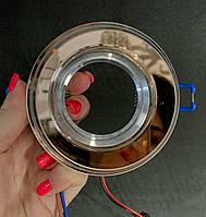 Светильник со встроенной светодиодной подсветкой кофейный, фото 1