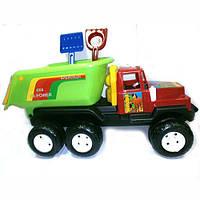 Игрушка для детей автомобиль 08-807 Киндервей Машина Фаворит Б 120 + песочный набор лопатка и грабельки