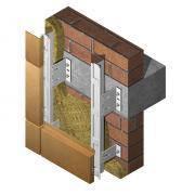 Подсистема для навесного вентилируемого фасада (НВФ)