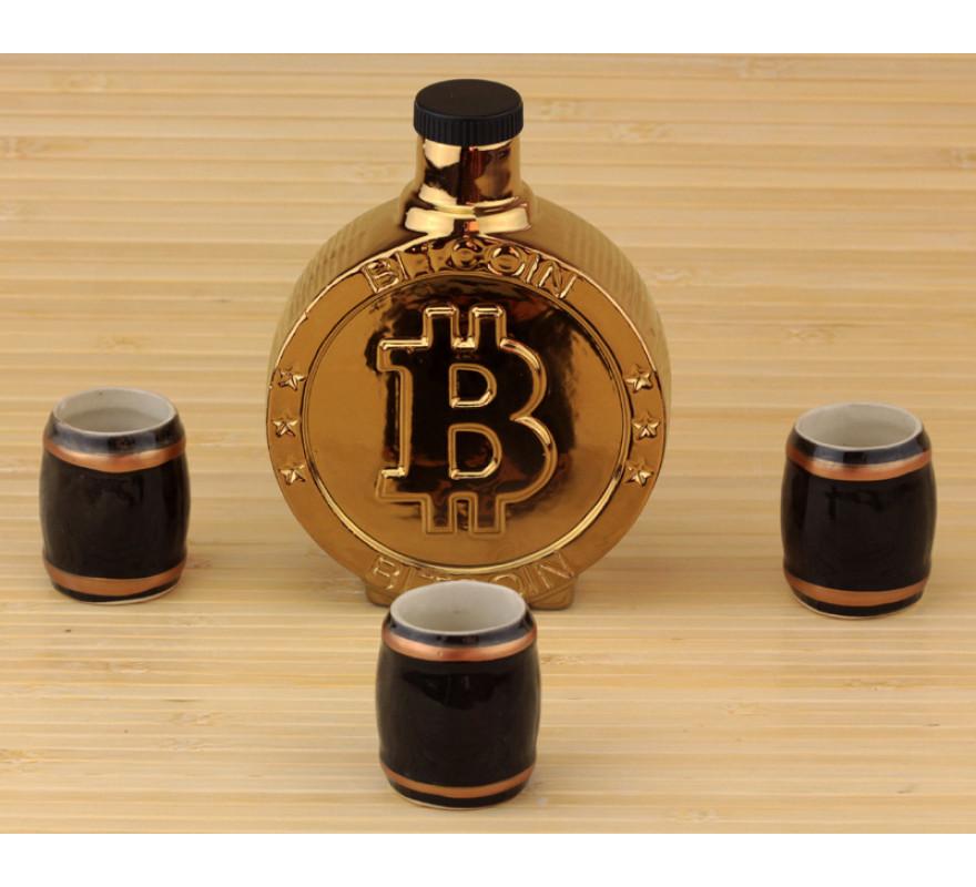 Купить Подарочный набор 33 wishes Биткоин Bitcoin, 4 предмета (KE105), Собственное производство