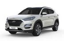 Дефлектор капота (мухобойка, отбойник капота) Hyundai Tucson (2020-...)