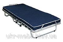 Раскладная кровать с матрасом, раскладушка усиленная