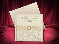 Красивые свадебные приглашения цвета айвори, запрошення на весілля, Киев