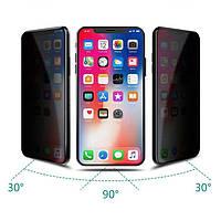 Защитное стекло Privacy tempered glass 5D для iPhone Xr / 11