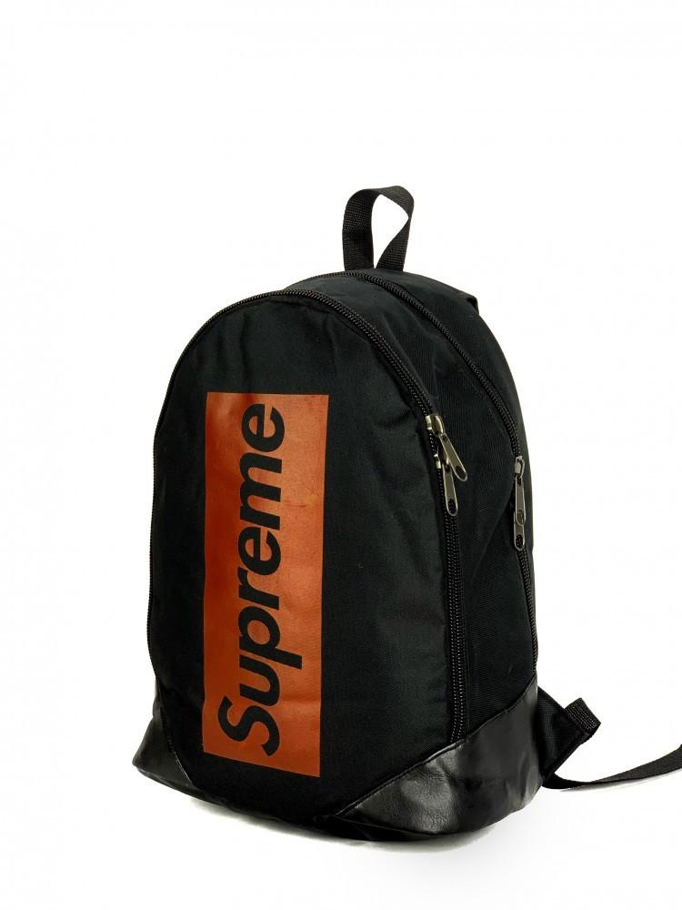 Брендовый рюкзак Supreme 21090 черный