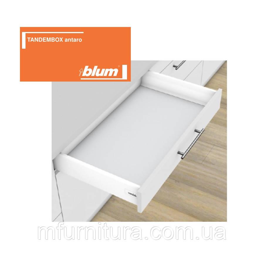 TANDEMBOX antaro, 500 мм, K(115.6), белый стандарт / blum (Австрия)
