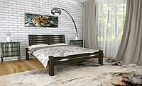 Двуспальная Кровать из дерева сосна 120*190 Веста MECANO цвет Венге 4MKR024