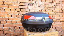 Кофр для мотоцикла багажник FXW HF-818 на два шлема, фото 2