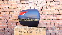Кофр для мотоцикла багажник FXW HF-818 на два шлема, фото 3