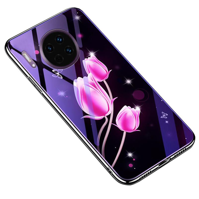 TPU+Glass чехол Fantasy с глянцевыми торцами для Huawei Mate 30 Pro