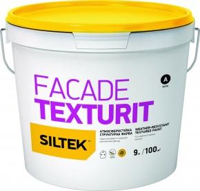 Фарба атмосферостійка структурна SILTEK FACADE TEXTURIT   9 л