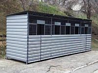Комплекс для сбора , хранение и сортировки бытовых отходов