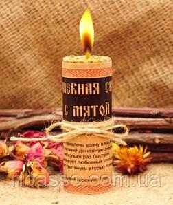 9060017 Волшебная свеча с мятой