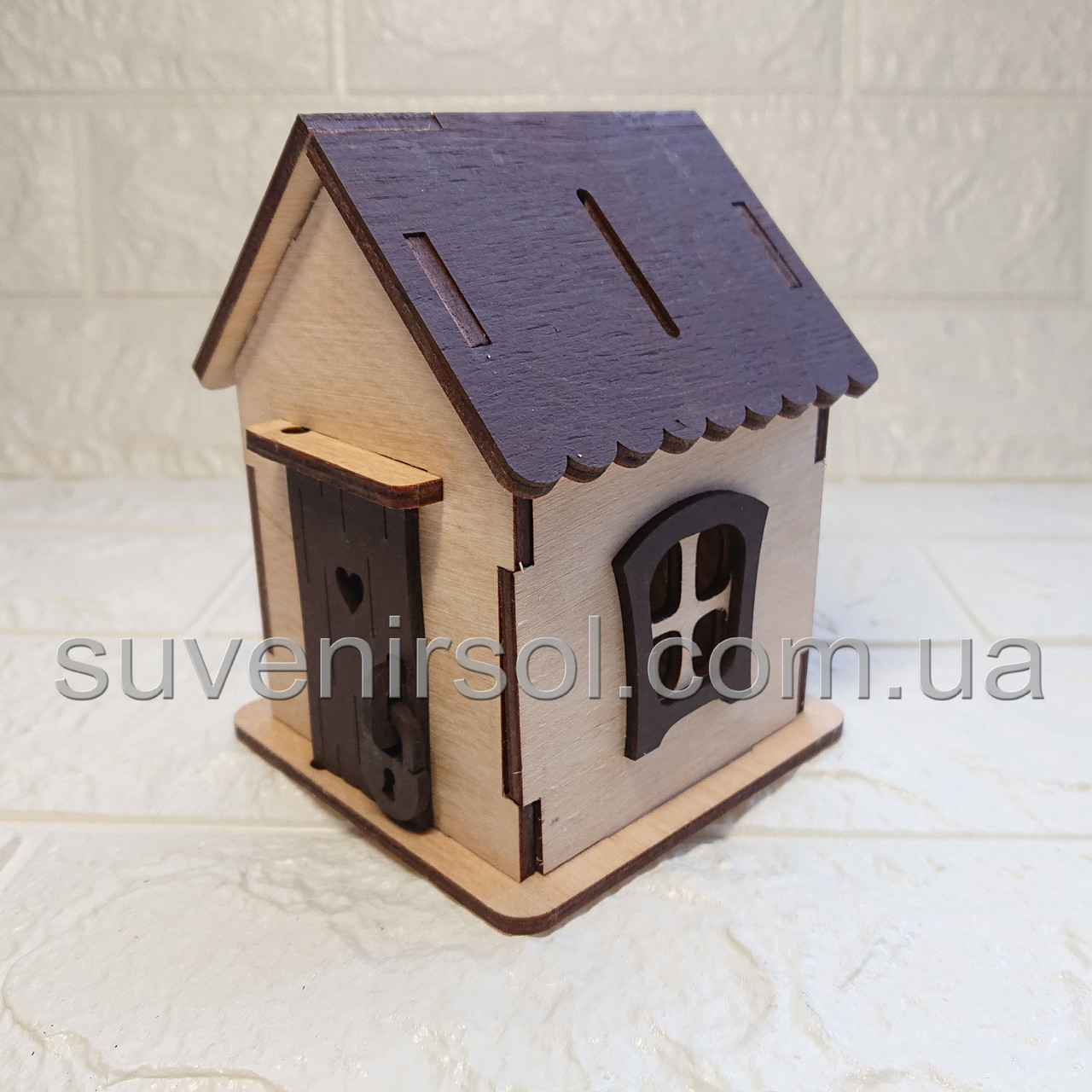 Копилка домик маленький