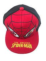 Дитячі кепки для хлопців SPIDER 52см