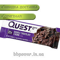 Протеиновый батончик Quest Protein Bar 60 г двойной шоколад