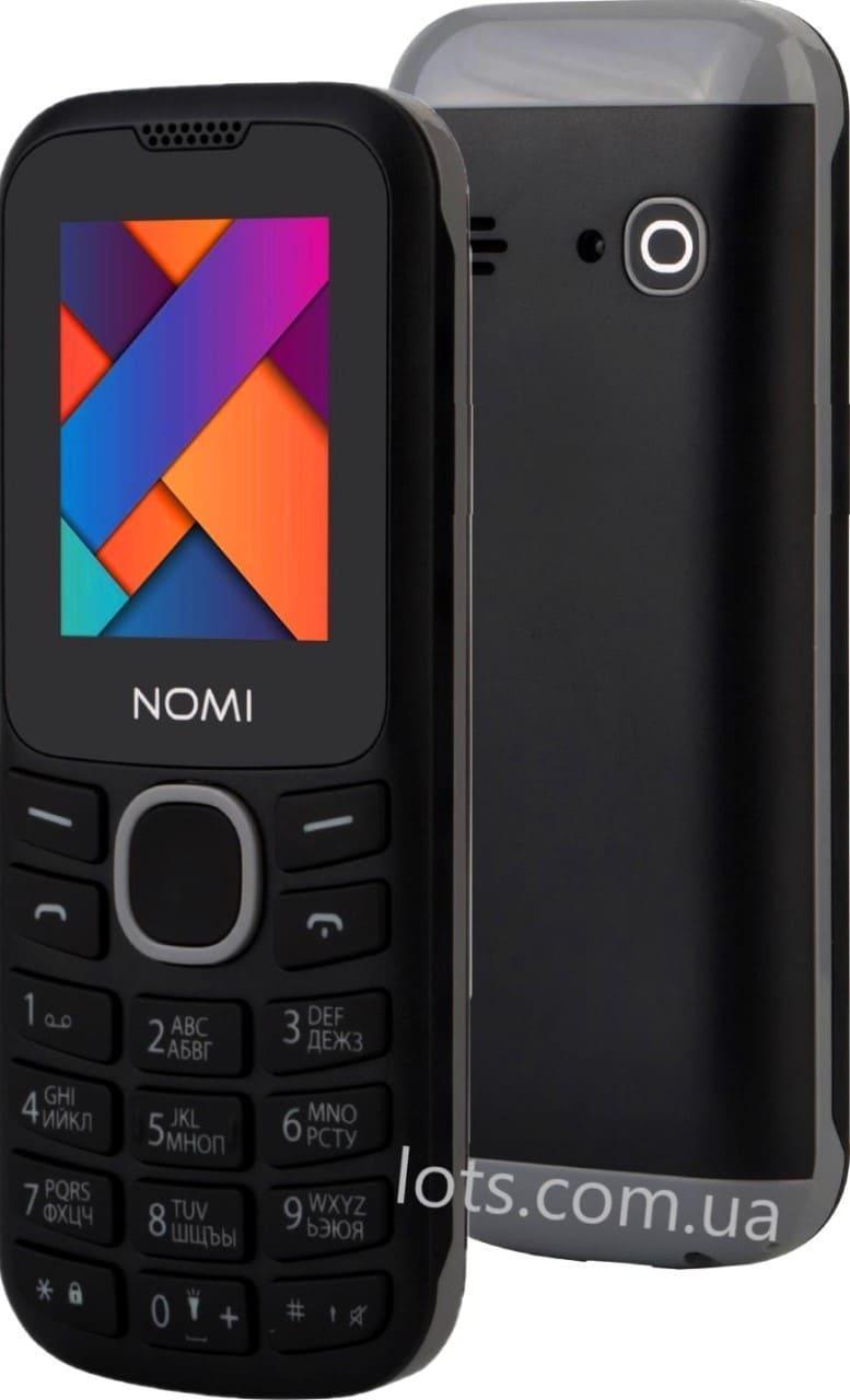 Мобильный Телефон Nomi i184 (2-SIM) Black-Grey