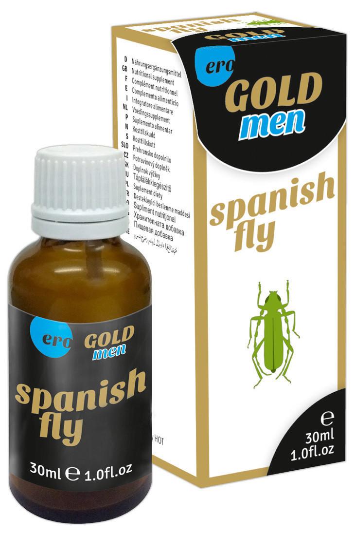 Возбуждающие капли для мужчин Ero Gold Men Spanish Fly Drops 30 мл