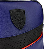 Сумка мужская через плечо Puma Ferrari 21100 синяя, фото 2