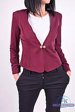 Пиджак женский (цв.бордовый) Lipar 1021 Размер:44
