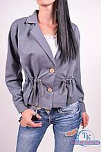Пиджак женский (цв.серый) 838 Размер:44,46,48,50