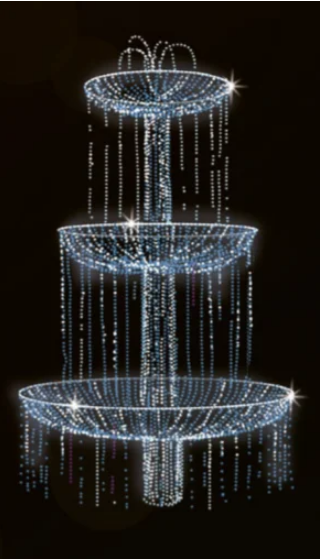 3D Светодиодные фонтаны