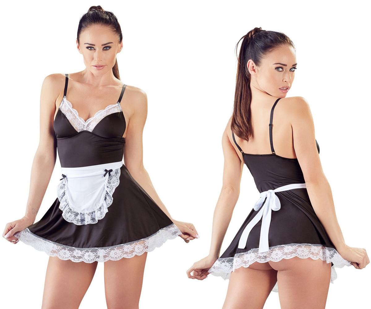 Эротический ролевой костюм горничной Cottelli Collection Maid's Dress от Orion