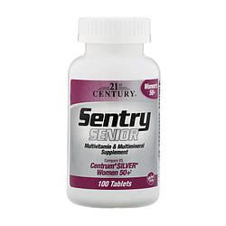 Вітаміни 21st Century Sentry Senior women's 50+ 100 tabs