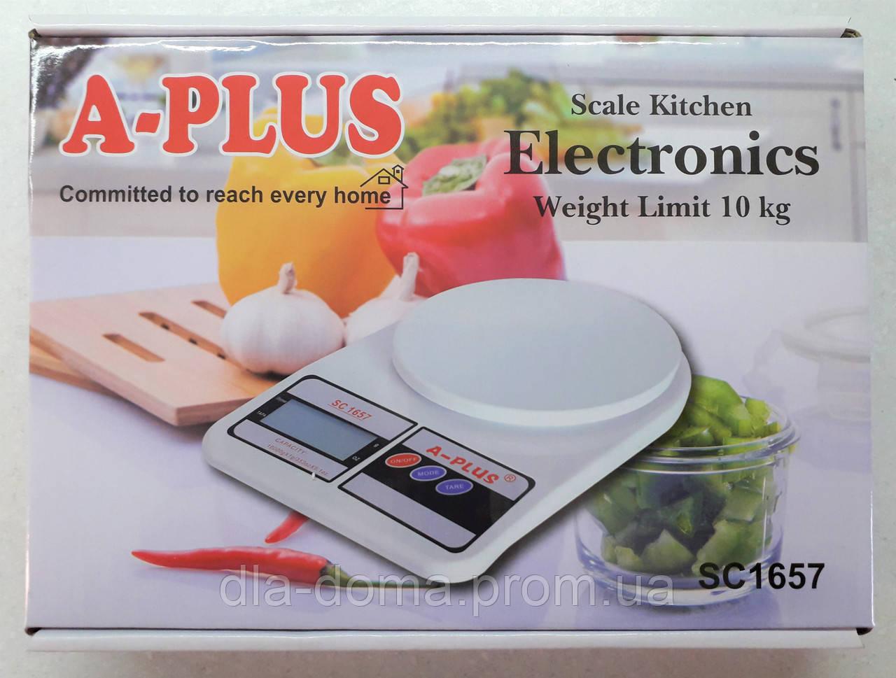 Кухонні ваги A-Plus 1657