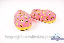 Тапочки женские (цв.розовый) смайл Размер:35,36,37,38,39