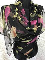 """Стильный шарф на голову """"Паутинка"""" (цв.9)"""