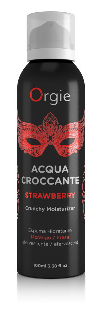 Шипучая пена для массажа Orgie Acqua Crocante Strawberry