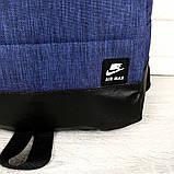 Брендовый рюкзак Nike Air 21107 синий, фото 4