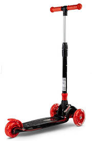 Трехколесный самокат Caretero Carbon Toyz Красный