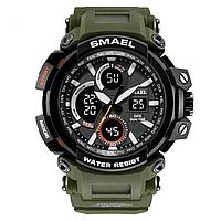 Smael 1708 зелені чоловічі спортивні годинник, фото 1