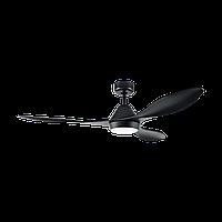 """Світильник з вентилятором стельовий EGLO 35017 1Х18W LED чорний """"Антібес"""""""