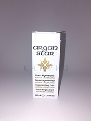 Реструктуризирующий флюид с маслом арганы и кератином RR Line 60 ml
