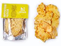 Фруктовые чипсы Hi-Snack, ананас, 50 г
