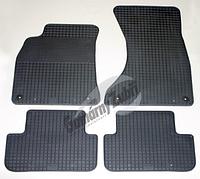 Резиновые ковры Audi A4 с 2007⇒ / цвет: серый