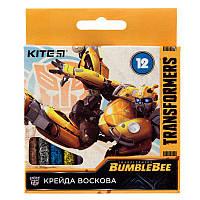 "Мел восковой Kite ""Transformers""  12 цветов (tf19-070)"