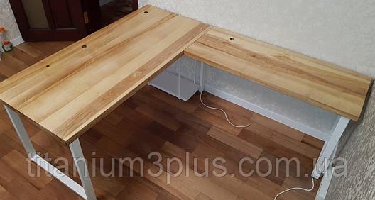 Компьютерный стол в стиле Loft, фото 2